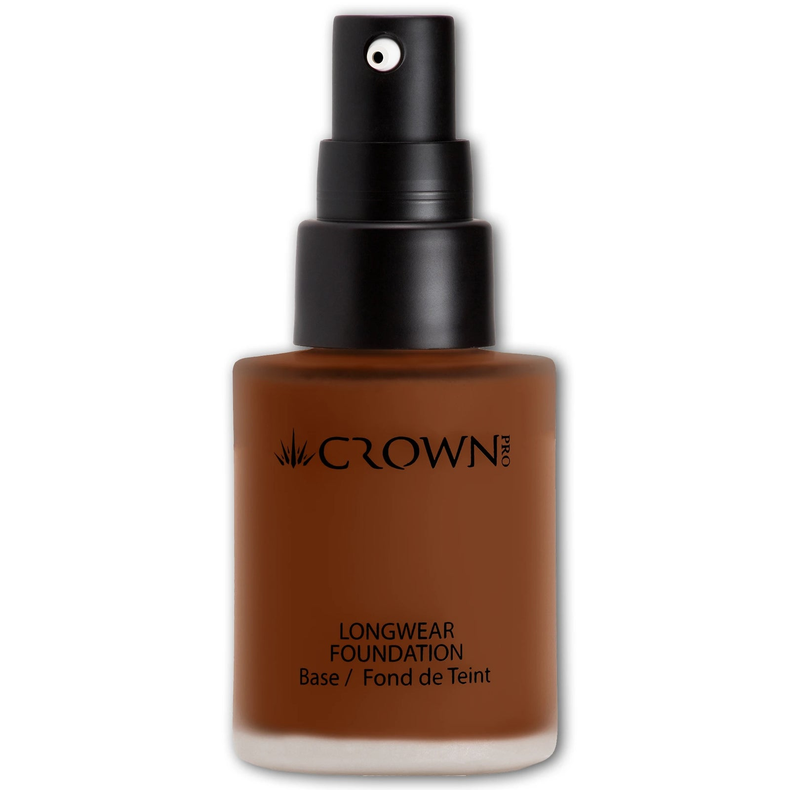 PFK5-12 Medium Deep Longwear Foundation - Crownbrush