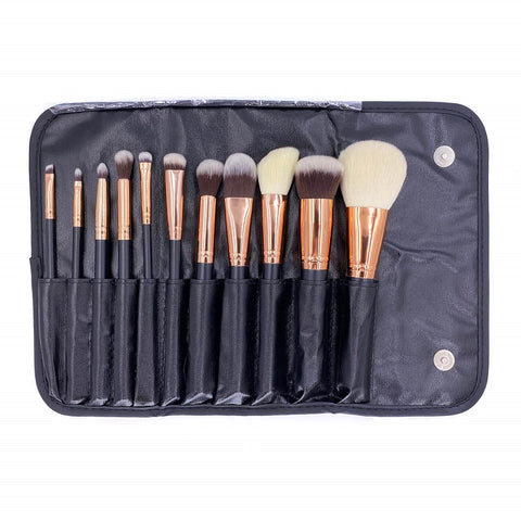 523 Purple HD Makeup Brush Set