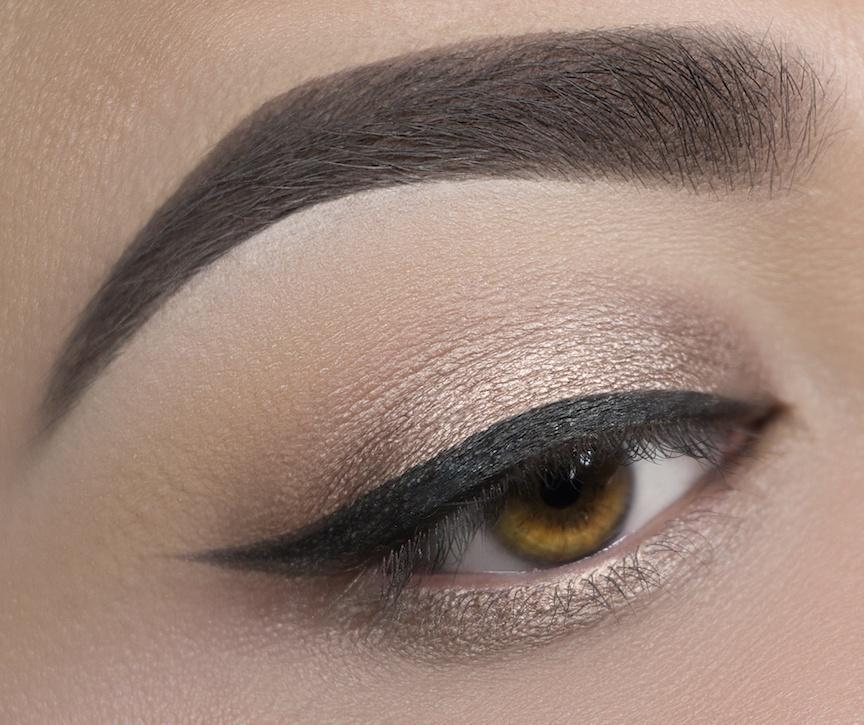 C18 Suede Eyeshadow Crownbrush Applied Eye Look