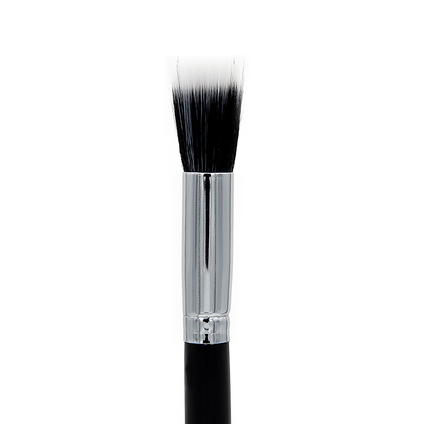 C404 Small Duo Fibre Face Brush - Crownbrush