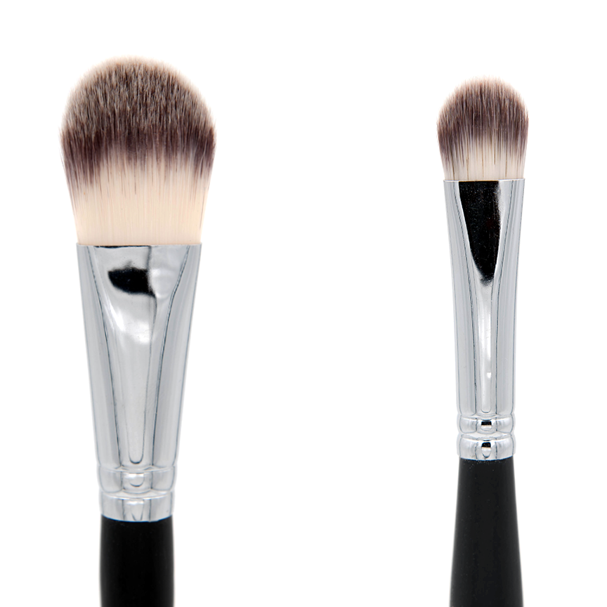 AC010 Deluxe Foundation / Concealer Makeup Brush - Crownbrush