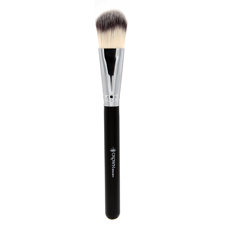SS001 Deluxe Large Oval Foundation Brush - Crownbrush