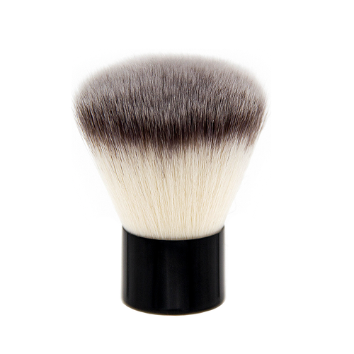 SS016 Deluxe Tapered Powder Kabuki Brush - Crownbrush