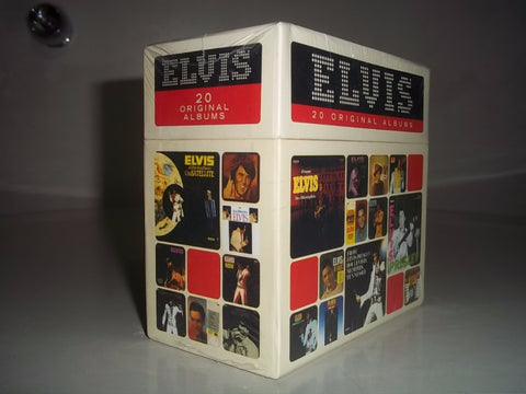 Elvis: 20 Original Albums 1956-1977 Complete Collection 20CD Box Set