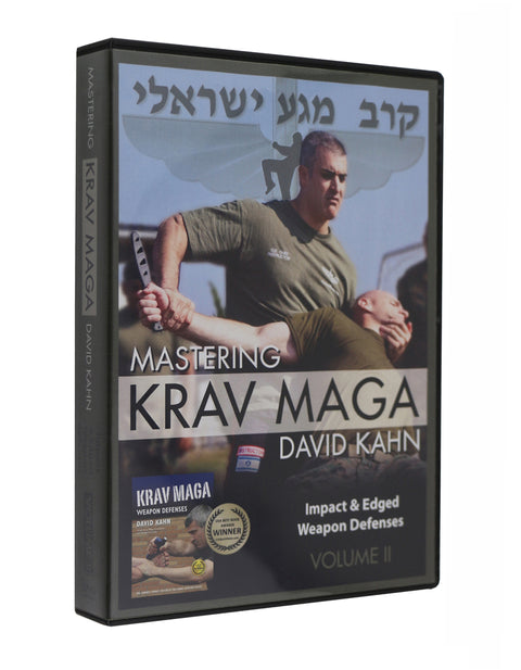 Mastering Krav Maga Self Defense (Vol. II) 5 DVD Set - Impact & Edged Weapon Defenses