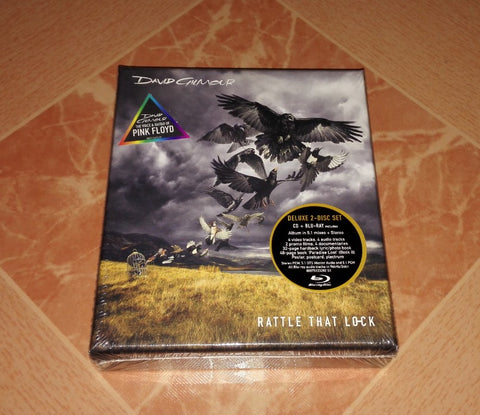 Pink Floyd DAVID GILMOUR Rattle That Lock Deluxe edition CD+DVD DigiPak