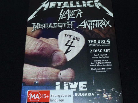 The Big 4: Metallica+Slayer+Megadeth+Anthrax: Live from Sofia, Bulgaria