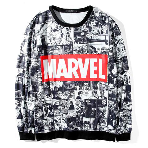 Marvel Sweatshirt Women