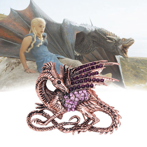 Game of Thrones Purple Dragon Pin