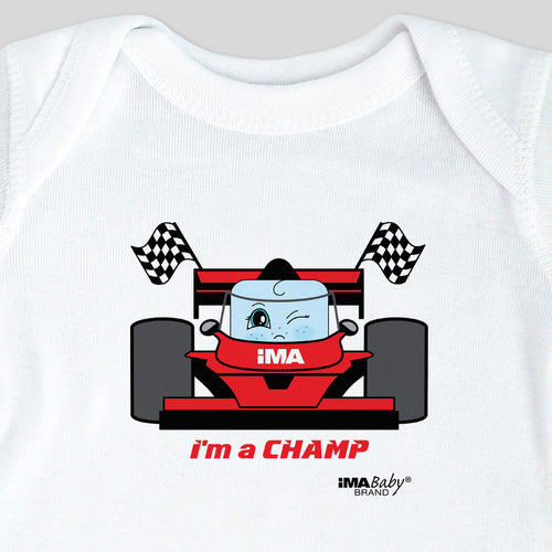 I'm a Champ (Indy Racing) Bodysuit & Tee (boy)