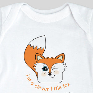 I'm a Clever Little Fox Bodysuit & Tee (boy)
