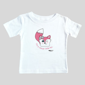 I'm a Clever Little Fox Bodysuit & Tee (girl)
