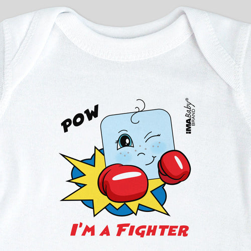 I'm a Fighter Bodysuit & Tee (boy)