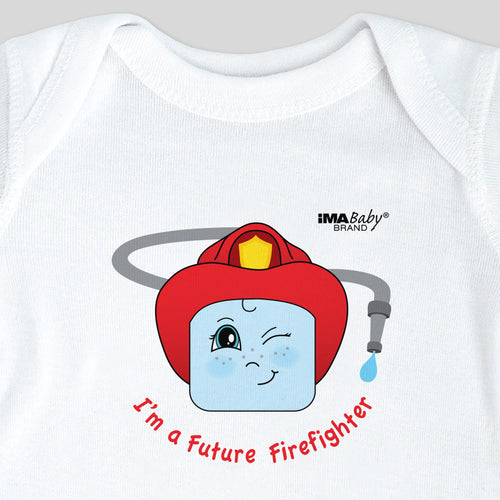 I'm a Future Firefighter Bodysuit & Tee (boy)
