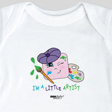 I'm a Little Artist Bodysuit & Tee (girl)