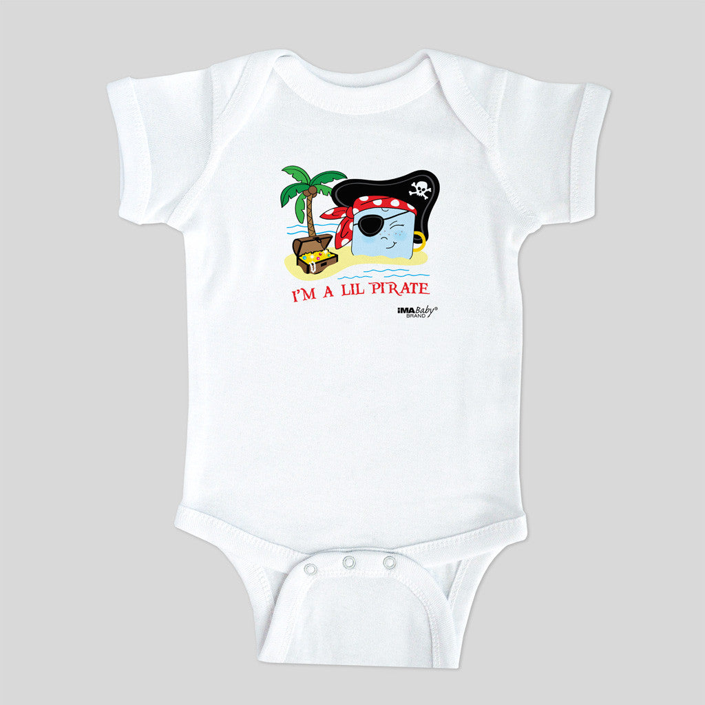 I'm a Lil Pirate Bodysuit (boy) SIZE: 6 MONTHS