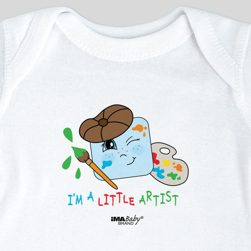 I'm a Little Artist Bodysuit & Tee (boy)