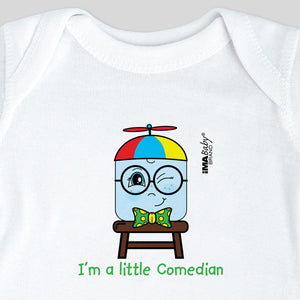 I'm a Little Comedian Bodysuit & Tee (boy)