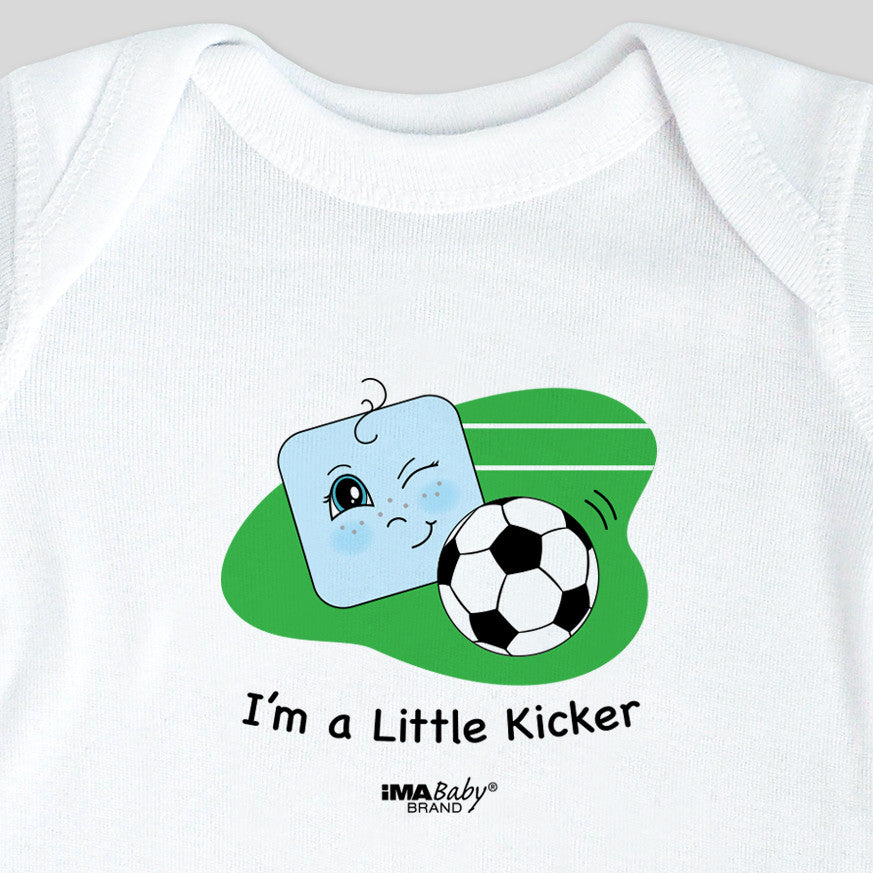 I'm a Little Kicker Bodysuit & Tee (boy)