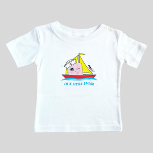 I'm a Little Sailor Tee (girl) SIZE: 6 MONTHS