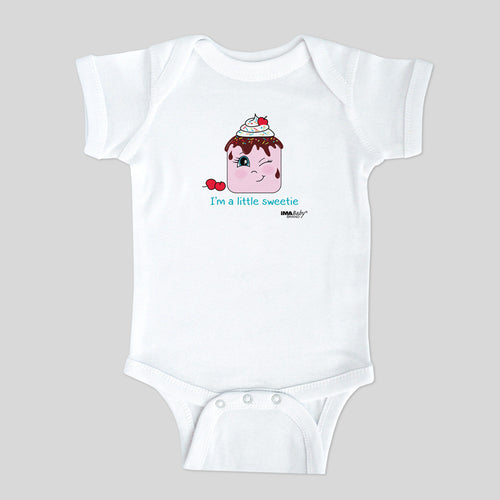 I'm a Little Sweetie Bodysuit (girl) Size: 6 MONTHS