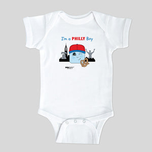 I'm a Philly Boy Bodysuit & Tee