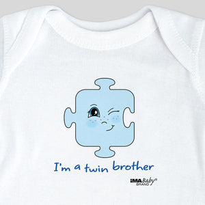 I'm a Twin Brother Bodysuit & Tee
