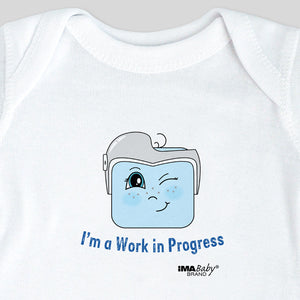 I'm a Work in Progress Bodysuit & Tee (boy)