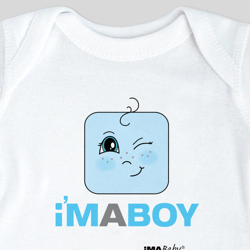 I'm a BOY (the Original) Bodysuit & Tee