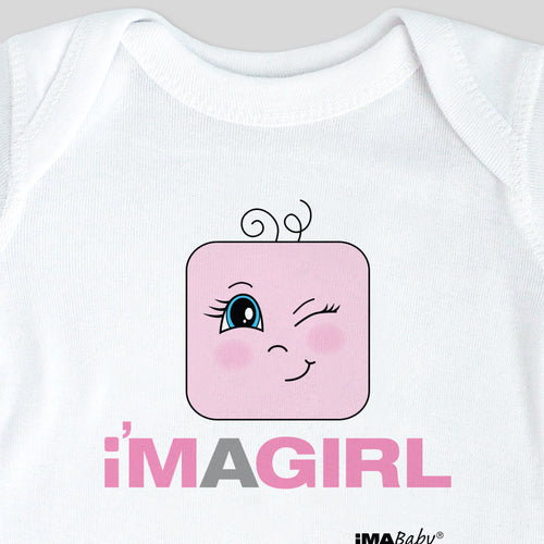I'm a GIRL bodysuit and t shirt