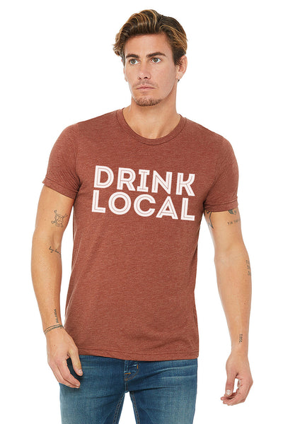 Clay Drink Local Design Unisex Soft Tee