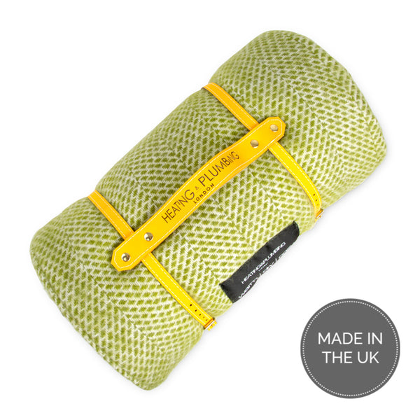 Waterproof picnic blanket - Kiwi green | Plaid de pique-nique imperméable - Vert kiwi