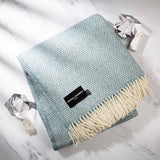 Fluffy Blue Throw