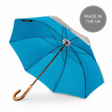 British Umbrella, Beech & Maple - Grey/Blue | Parapluie Anglais, Hêtre & Erable - Gris/Bleu