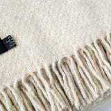 Comfy Home Blanket Recycled Ivory
