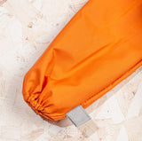 British Folding Umbrella  - Orange/Grey | Parapluie Anglais Pliant - Orange/Gris