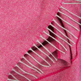 Love Stories - 100% Cashmere Scarf - Cerise