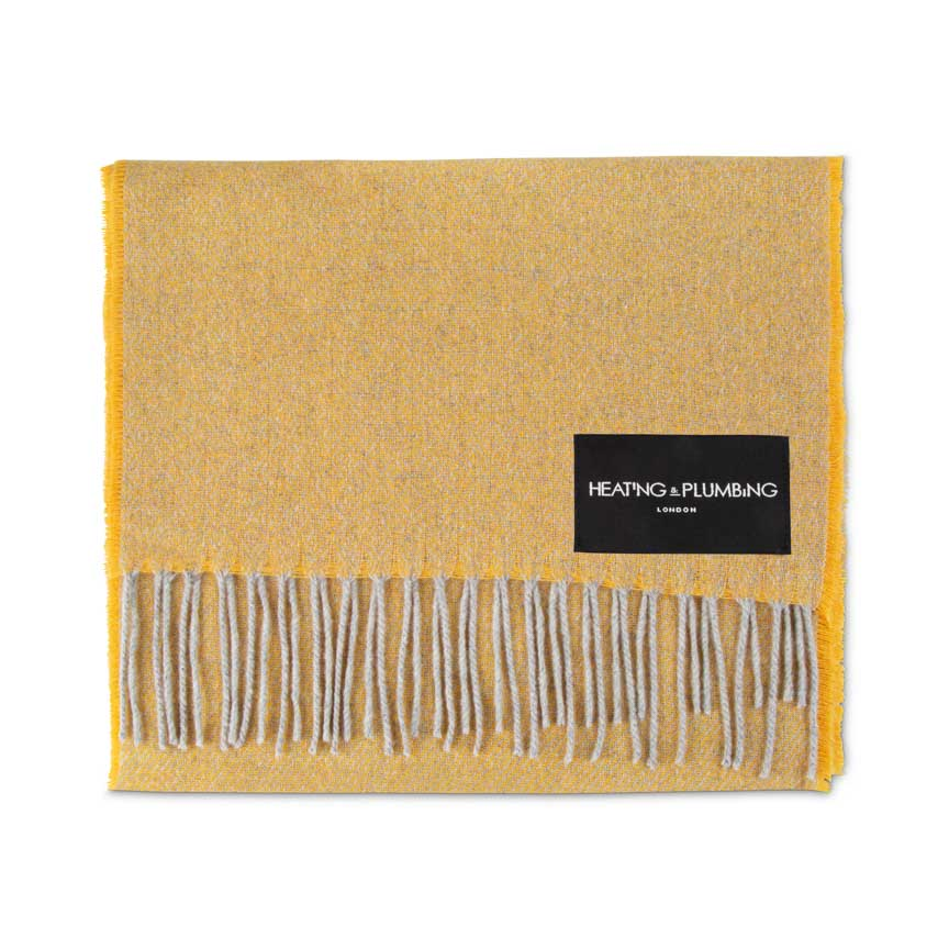 Love Stories - 100% Cashmere Scarf - Bergamot