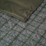 racing green waterproof glamping rug