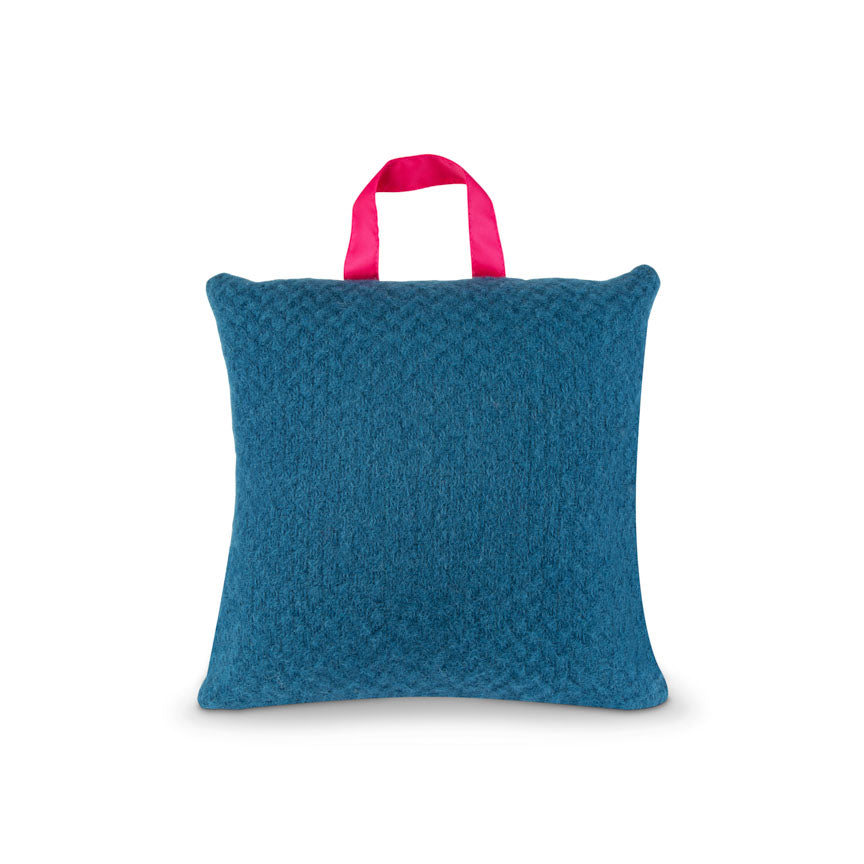 Waterproof Outdoor Cushion in Pure New Wool - Notting Hill