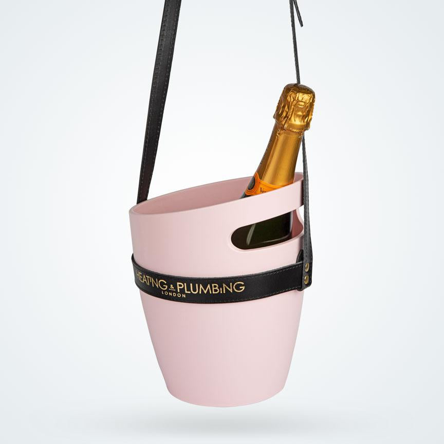 """Keep Your Cool"" Champagne Bucket - Pink 
