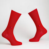 Secret Love Dress Socks - Red | Chaussettes Secret Love - Rouge