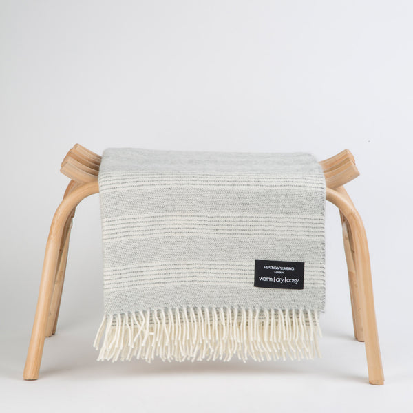 Alpaca throw - Natural