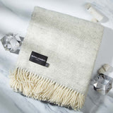 Fluffy Light Grey Throw