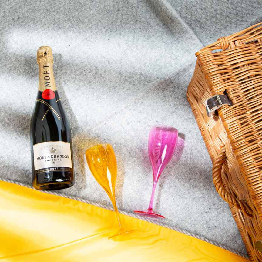 Pure new wool picnic blanket -  The Jubilee