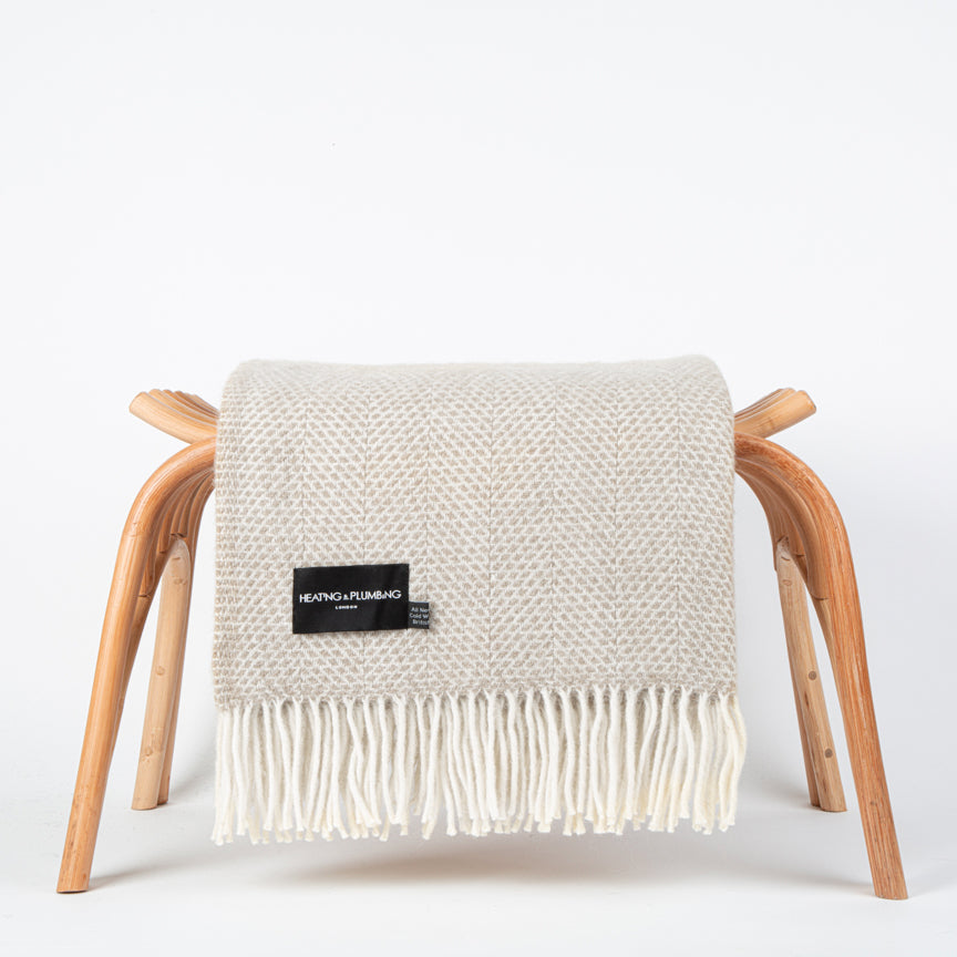 Wool blanket for the sofa or the bed