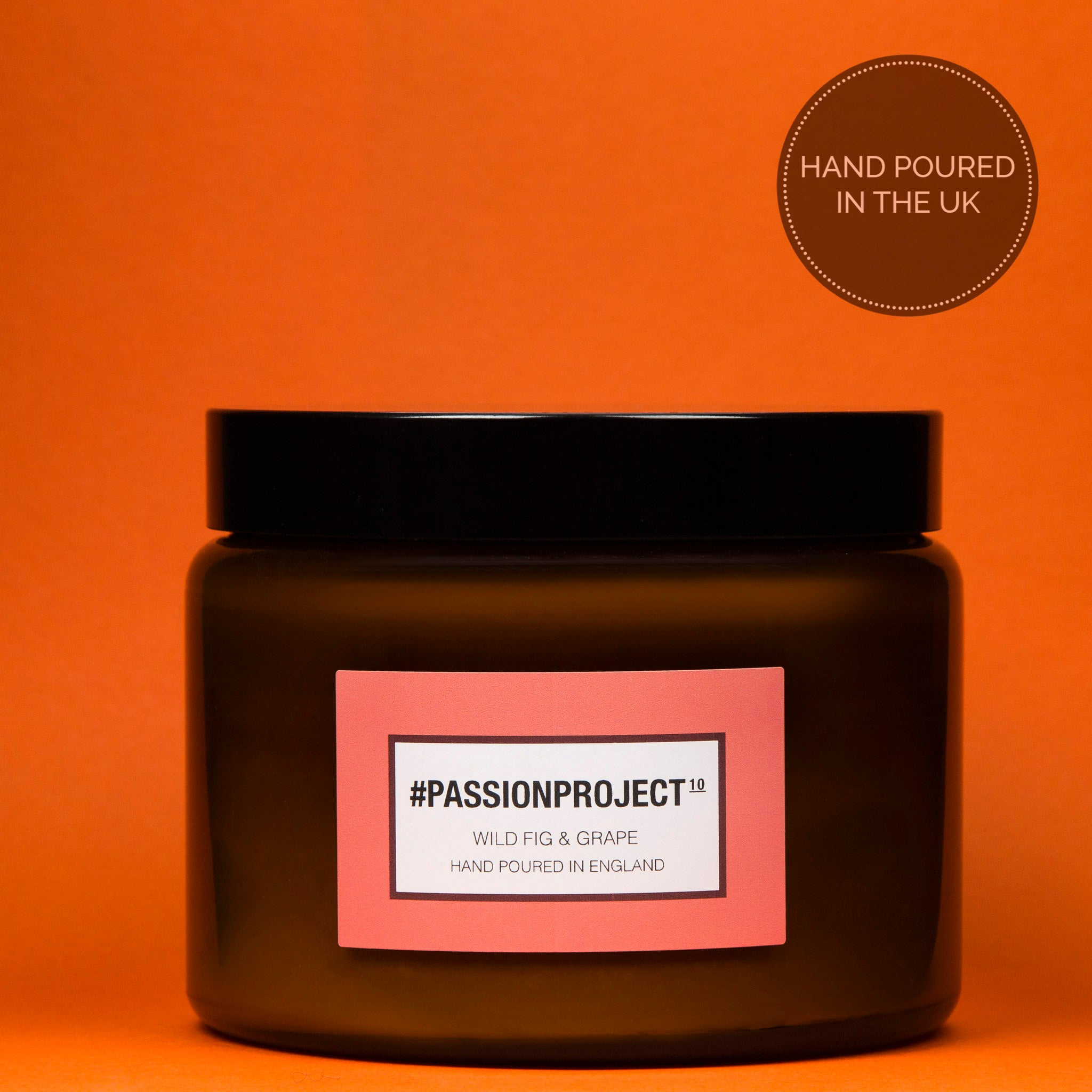 #Passionproject - Wild Fig & Grape Luxury Candle - 500 ml