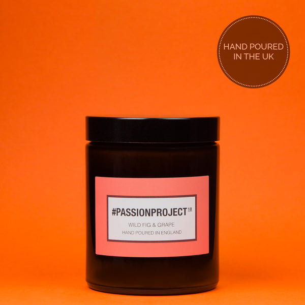 #Passionproject - Wild Fig & Grape Luxury Candle - 180 ml