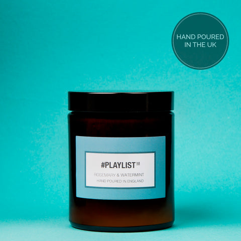 #Playlist - Rosemary & Watermint Luxury Candle - 180 ml