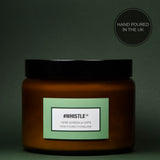 #Whistle - Herb Garden & Hops Luxury Candle - 500 ml